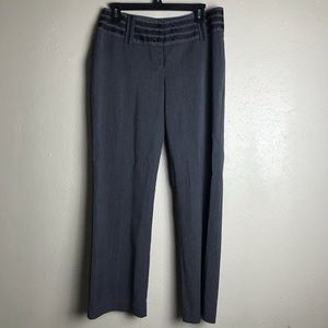 Worthington dress slacks 8P 8 petite gray G6